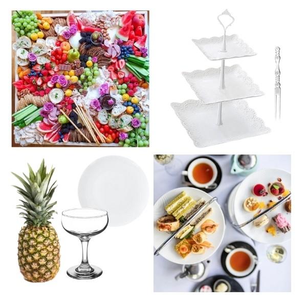 Bridgerton Inspired Wedding Style - food