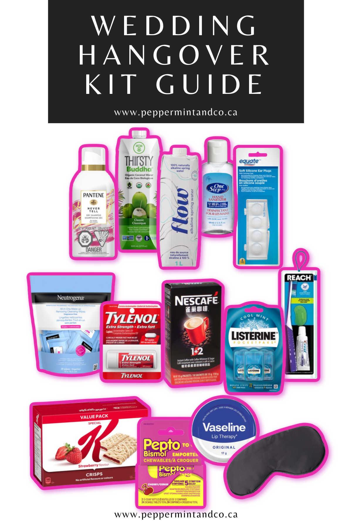 Wedding Hangover Kit Guide