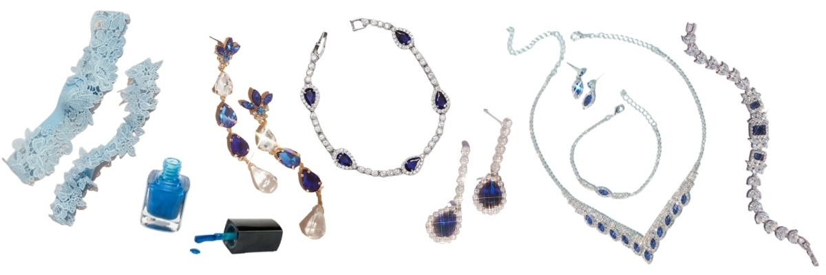 """""""Something Blue"""" Ideas For Your Wedding accessories"""