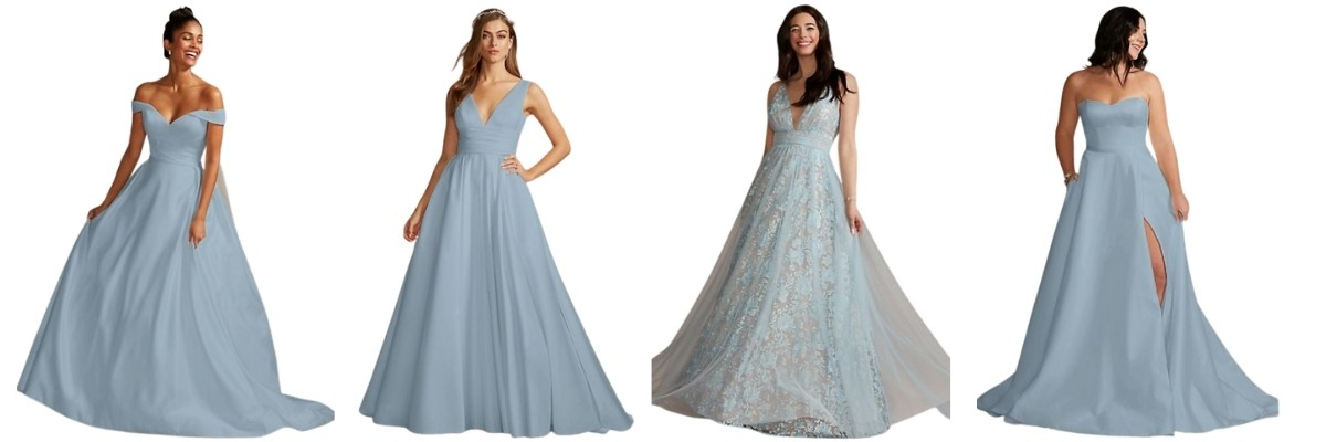"""""""Something Blue"""" Ideas For Your Wedding gowns"""