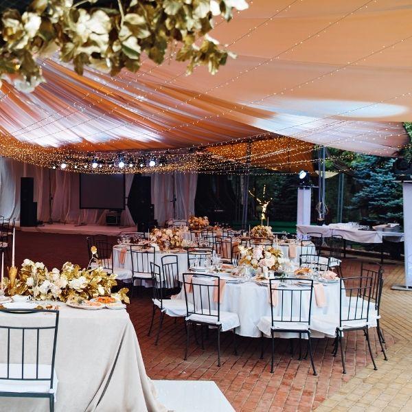 Tented Wedding Checklist - outdoor