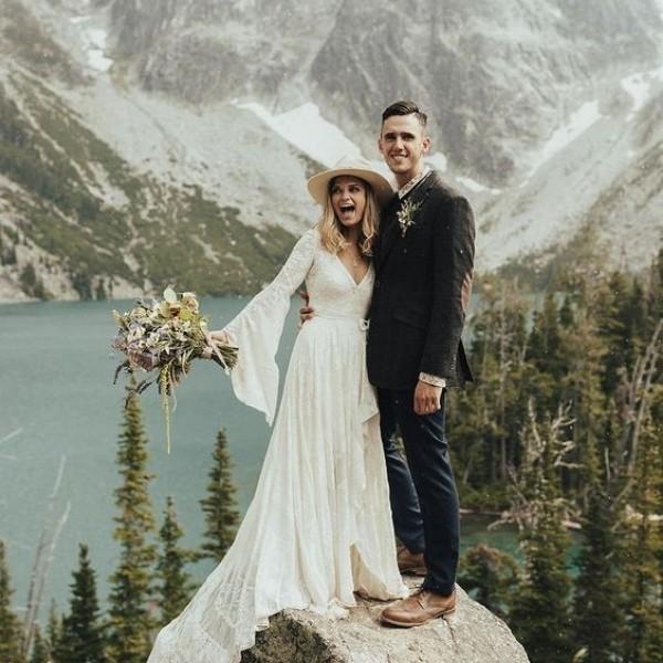 Wedding Elopement Ideas + Locations - mountains