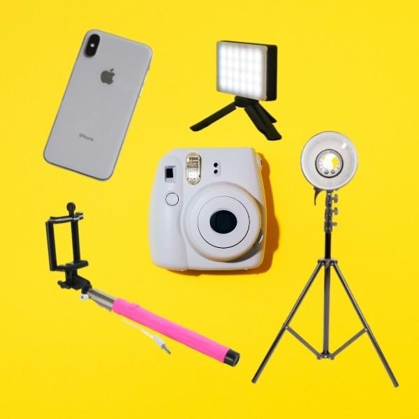 Easy DIY Wedding Photo Booth Ideas - essentials