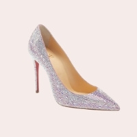 CHRISTIAN LOUBOUTIN Kate Crystal Embellished Pointed Toe Pump $3,595.00