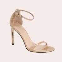 STUART WEITZMAN Nudistsong Ankle Strap Sandal $398.00