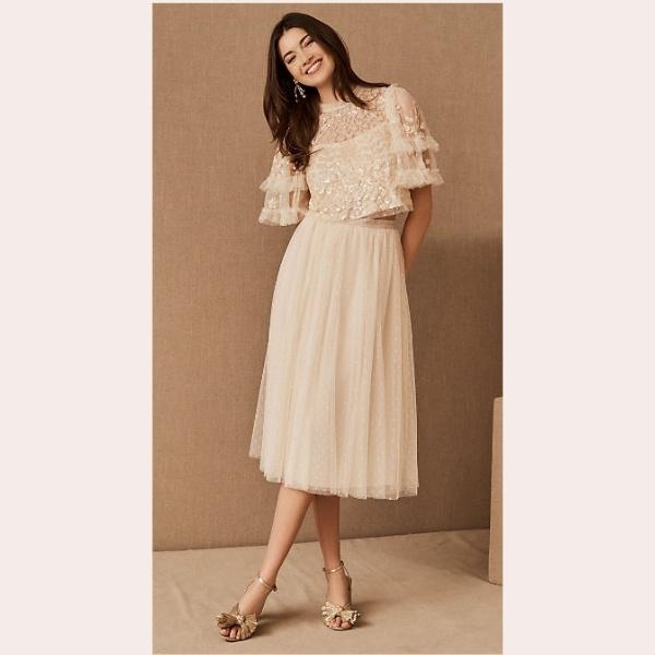 (8) Needle & Thread Aurelia Top & Kisses Tulle Skirt
