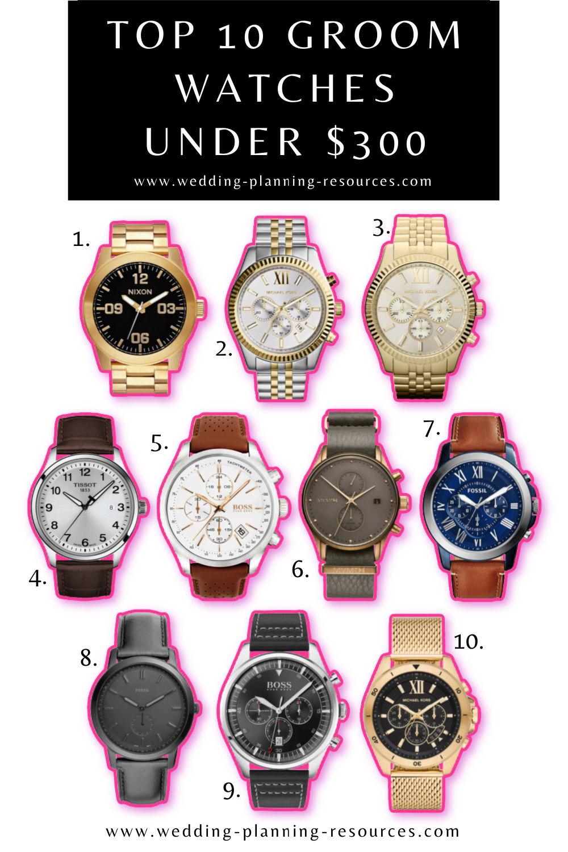 Groom Watches Under $300