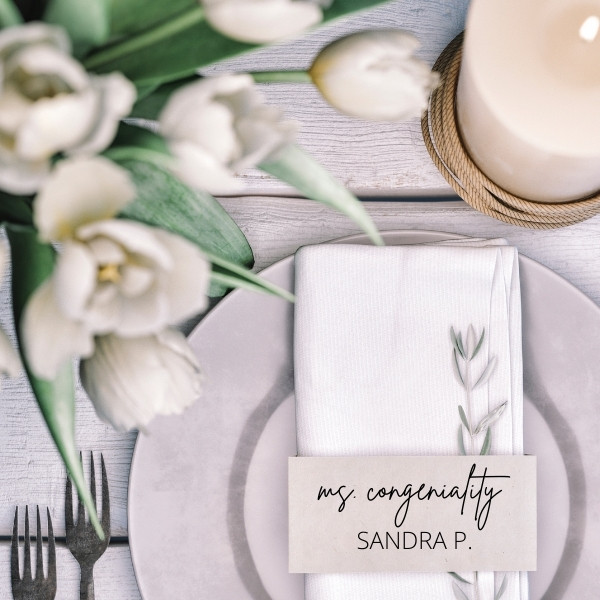 Easy Wedding Escort and Place Card Guide