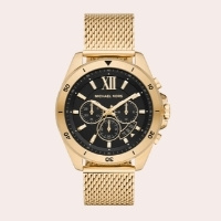 (10) Brecken Chronograph Mesh Strap Watch, 45mm