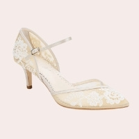 (3) Candice Embroidered Pump