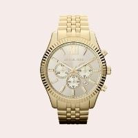 (3) 'Large Lexington' Chronograph Bracelet Watch, 45mm