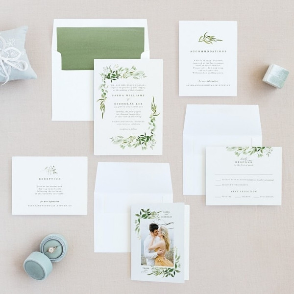 Why you need to sample your invitation before ordering online