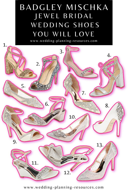 Badgley Mischka Jewel Bridal Wedding Shoes You Will Love