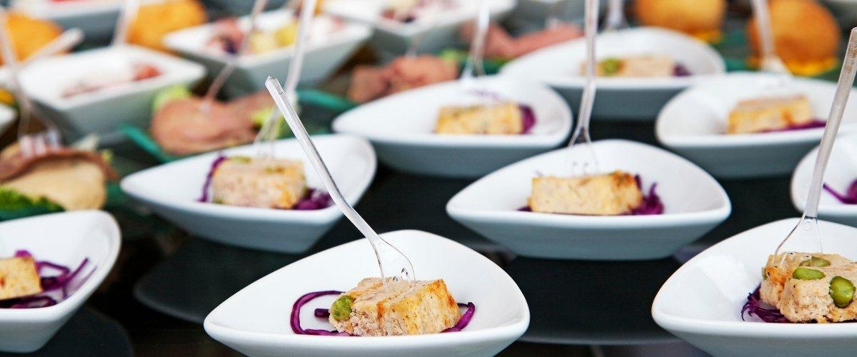Cocktail Wedding Reception: How To - sandwich bites