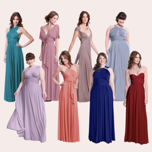 HENKAA : Convertible Bridesmaids Dresses: What You Need To Know