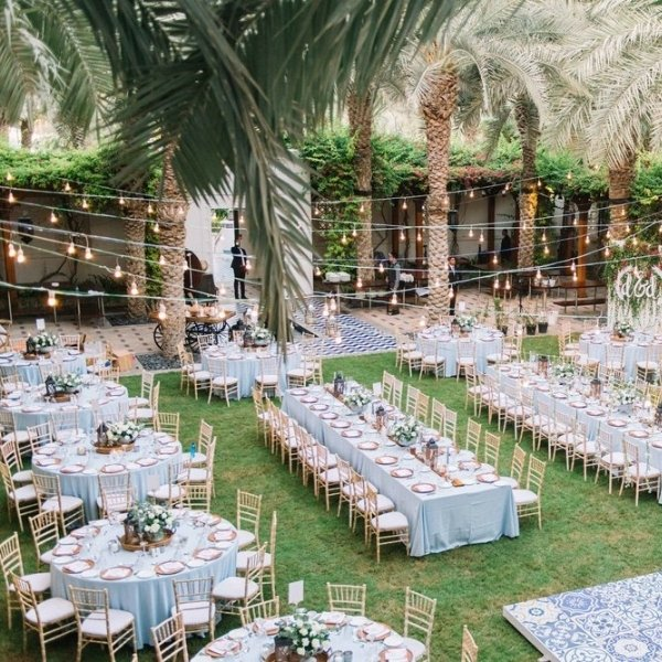 Easy Ways To Elevate Your Wedding Tablescape - mix and match tables