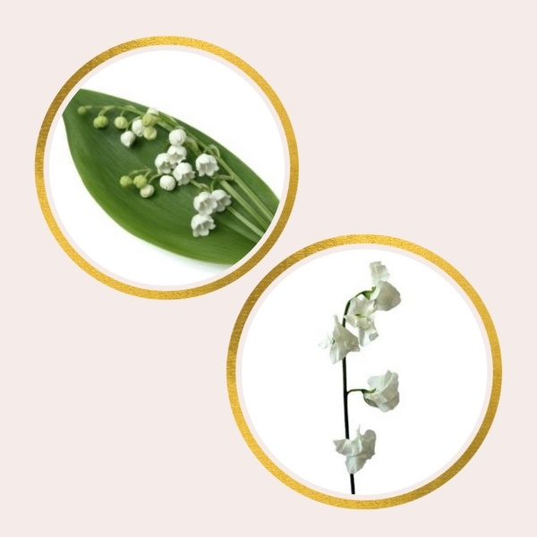 Affordable Alternatives For Pricy Flowers - sweet pea and lily of the valley